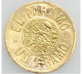 Ensayo Popper 1gr Rara Moneda Oro