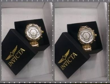 02 Relógios Masculino Luxo + Caixa Atacado