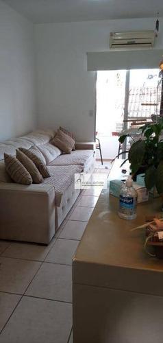Apartamento Com 2 Dormitórios, 55 M² - Venda Por R$ 210.000,00 Ou Aluguel Por R$ 1.000,00/mês - Jardim Vera Cruz - Sorocaba/sp - Ap1117