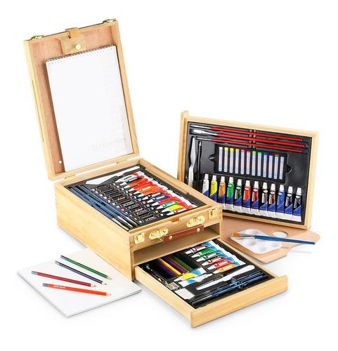 Pintura Acuarela Oleo Colores Arte Caballete Pincel Pastel