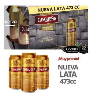Cusqueña Cerveza Lata X 473 Cc. Caja X 24 Und.