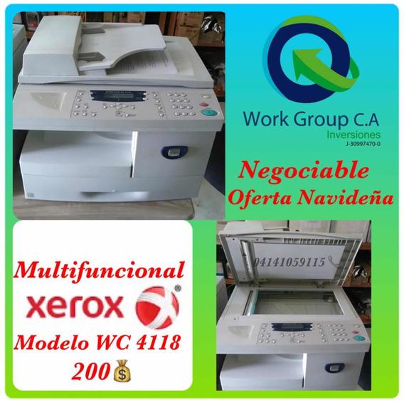 Fotocopiadora Xerox Wc 4118