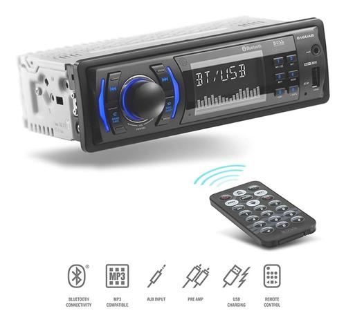 Boss Reproductor Bluetooth Am/fm, Aux Con Control No Toca Cd