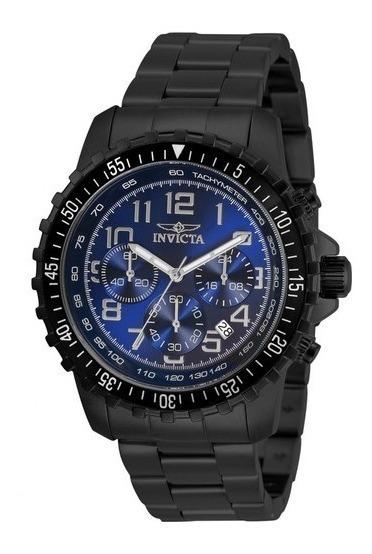 Invicta Specialty Chronograph Quartz Azul Masculino Original