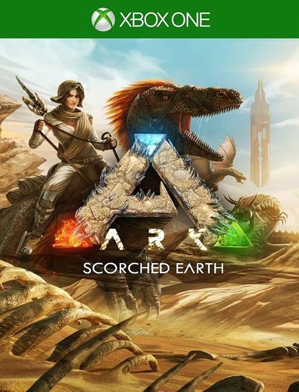 Ark Survival Scorched Earth Dlc Xbox - 25 Dig 100% Original