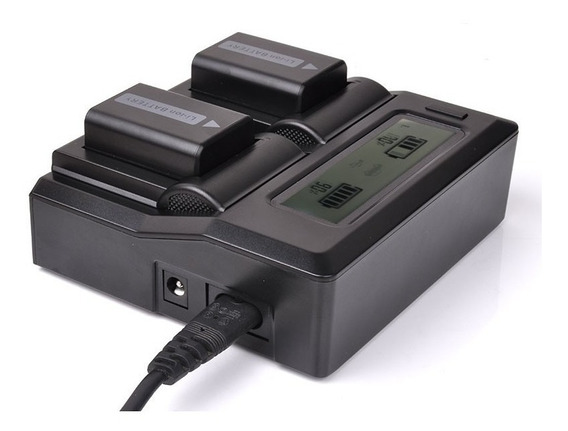 Carregador Duplo Bateria Sony Np-fw50