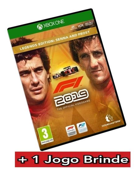F1 2019 Legends Edition Senna E Prost Ed - Xbox One + Brinde