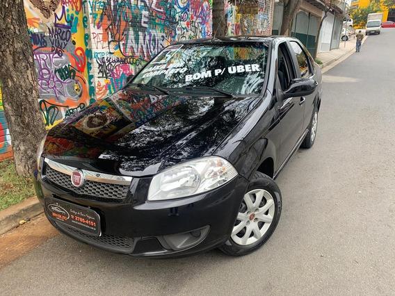 Fiat Siena 1.4 El Completo 2015 Baixo Km Bom Para Uber