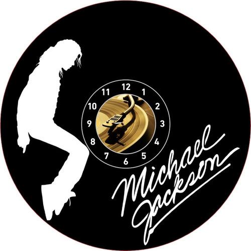 Michael Jackson Reloj En Disco Acetato