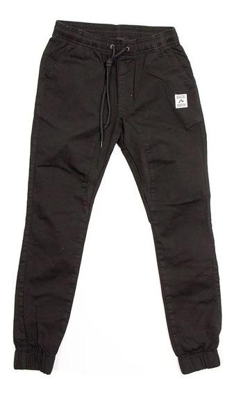 Pantalon Rusty Hook Out Elastic Negro Niño