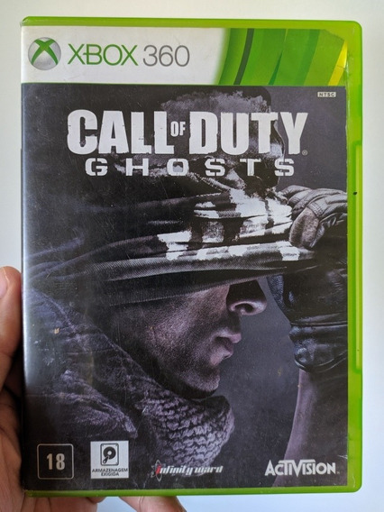 Call Of Duty Ghosts Português Original Mídia Física Xbox 360