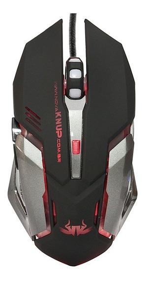 Mouse Gamer Com Fio 2400 Dpi Tiger X 6 Botoes 7 Cores Random