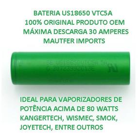 Kit 02 Bateria 18650 Vtc5a 2600mah 30a Descarga Oem