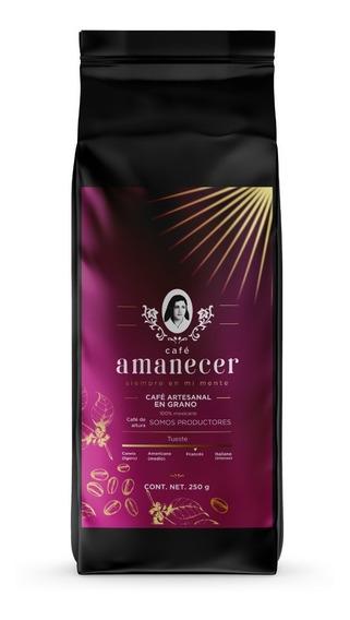 Café Amanecer 100% Puro Gourmet De Altura 250gr En Grano