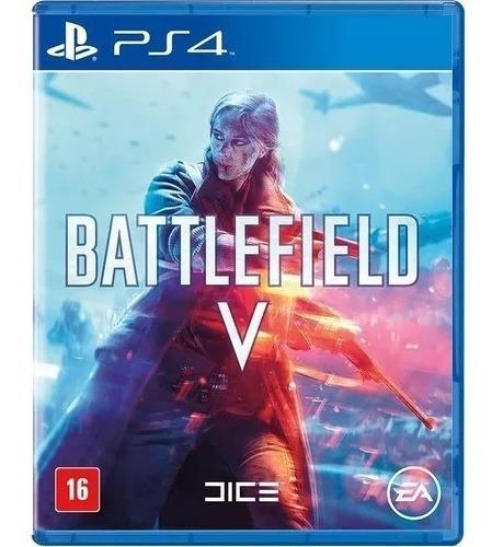 Battlefield 5 V Ps4 Mídia Física Lacrado Dublado
