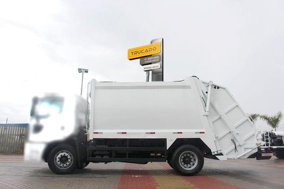 Compactador De Lixo Megalix 15 Metros Ano 2014 = Compactador