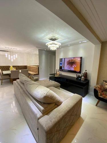 Apartamento, 100 M² - Venda Por R$ 965.000,00 Ou Aluguel Por R$ 6.100,00/mês - Jardim Flor Da Montanha - Guarulhos/sp - Ap16619