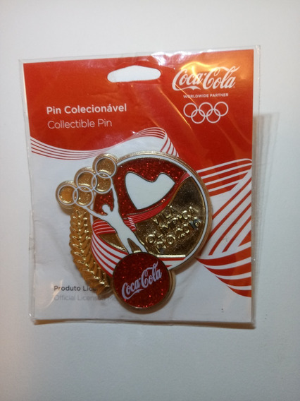 Pin Coca Cola Olimpíadas 2016 Vila Olímpica