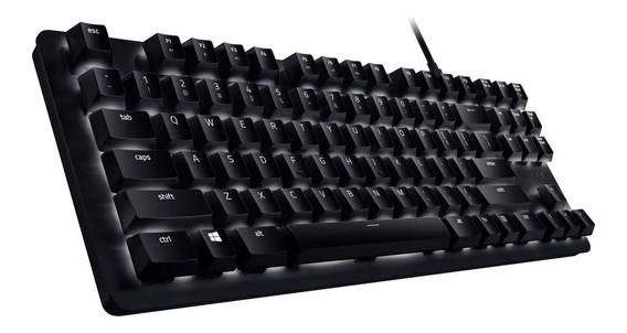 Teclado Mecânico Gamer Razer Blackwidow Lite, Switch Orange