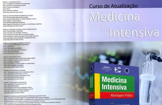 Curso De Atualização Em Medicina Intensiva Completo 4 Dvd