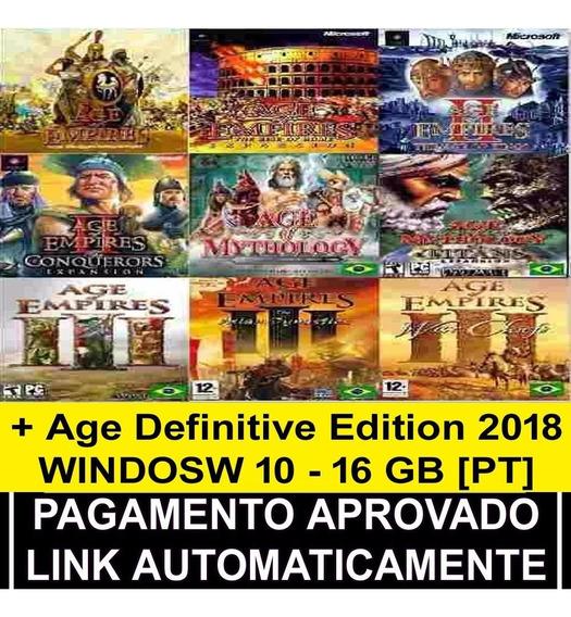 Pack 2018 Age Of Empires Coleção Completa Português Download