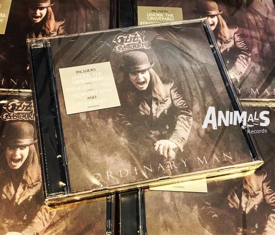 Ozzy Osbourne Ordinary Man Cd Nuevo Original Cerrado