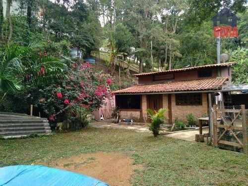 Chácara Com 3 Dormitórios À Venda, 2500 M² Por R$ 320.000,00 - Luiz Fagundes - Mairiporã/sp - Ch0382