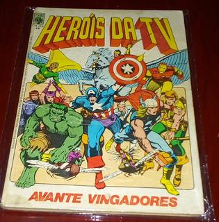 Hq Antigo Dos Heróis Da Tv