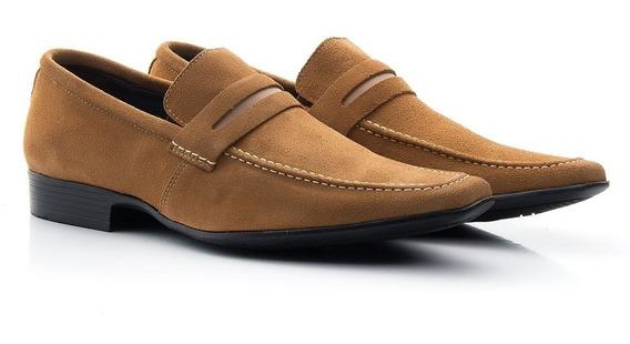 Promoção Sapato Masculino Social Bigioni Camurça Imperdível