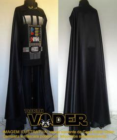 Fantasia Darth Vader Adulto Star Wars Cosplay - Capa