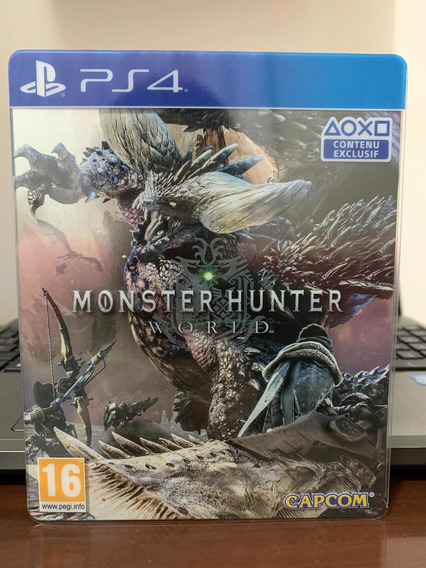 Monster Hunter World Stellbook Ps4 ( Raríssimo ) Limitado