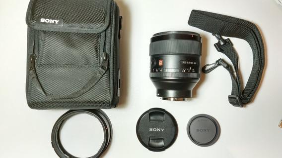 # Lente Sony 85mm 1.4 Gm Sony Fe 85mm 1.4 Gm Perf Garant Loj
