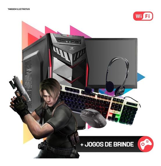 Pc Gamer I5 4ª, 8gb Ram, Hd Ssd 480gb, Gtx1060 6gb Completo