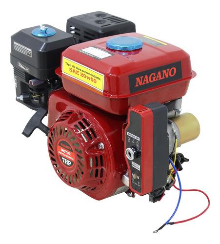 Motor A Gasolina 7hp Partida Eletrica Eixo 3/4 Pol 19,05mm