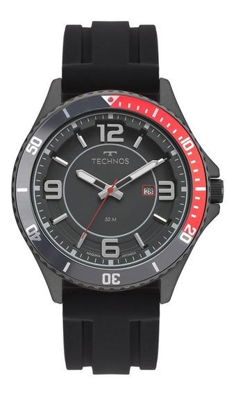 Relógio Technos Masculino Preto Performan Racer 2115msi/8p