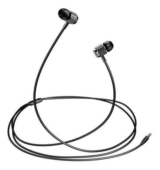 Usams 3.5mm Fones De Ouvido De Controle De Fio Chapeamento N