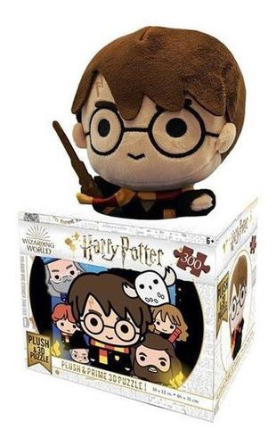 Qc 3d Harry Potter Toy Ed. Especial C/ Pelucia 300pcs