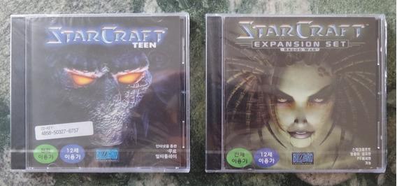 Starcraft + Broodwar Da Blizzard (lacrados Coreanos)