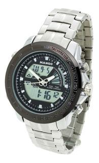 Reloj Mango Hombre 1634 Analógico Digital Crono Wr30 Metal