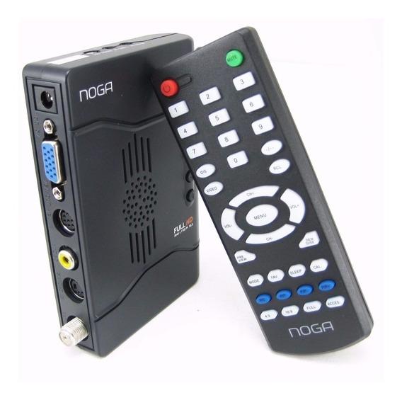 Sintonizadora Tv Externa Noga Ngs 323 Full Hd 1080 Vga Rca!!
