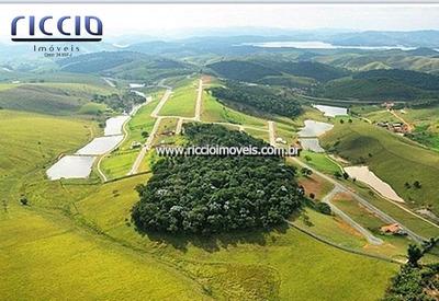 Paraibuna - Terreno Quinta Dos Lagos 2000 M² - Esquina - 8386