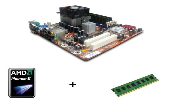 Kit Amd Quad Core Phenom 925 X4 Ddr3 8 Gb 2.8 Ghz 4 Núcleos