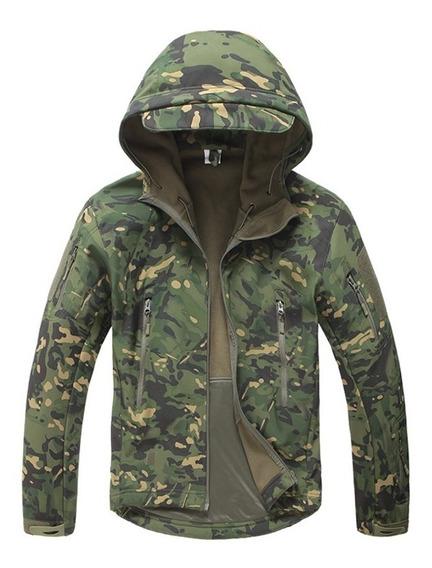 Jaqueta Tática Militar Impermeável Camuflada Pronta Entrega