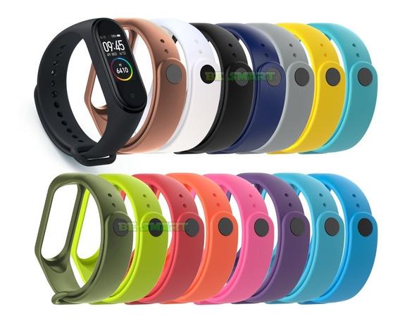 Correa Para Xiaomi Mi Band 4 / 3 Varios Colores Ó Micas