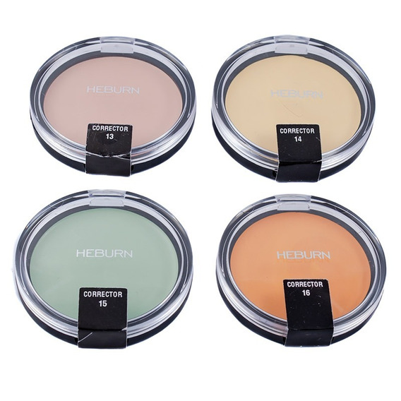 Heburn Kit 4 Correctores Cremosos Maquillaje Profesional 305