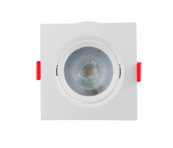 Spot Led Quadrado Direcionável 5w 6500k Luz Branca - Opus