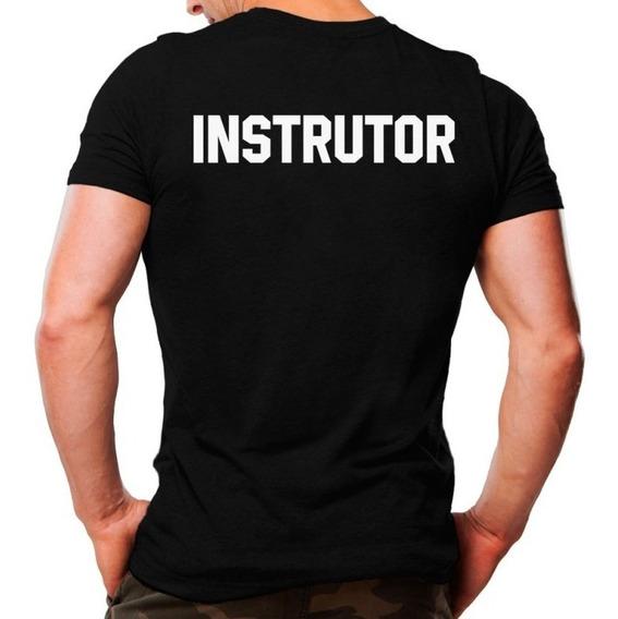 Camiseta Militar Estampada Instrutor