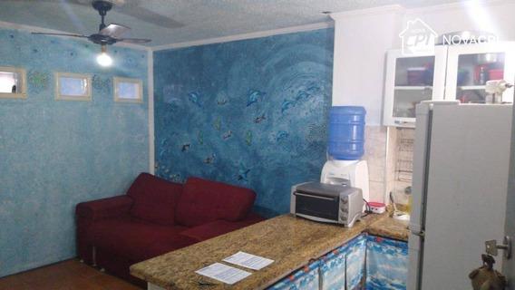Kitnet À Venda, 30 M² Por R$ 105.000,00 - Aviação - Praia Grande/sp - Kn0571