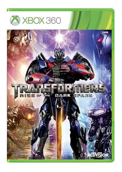 Transformers Rise Of The Dark Spark - Xbox 360 - Usado