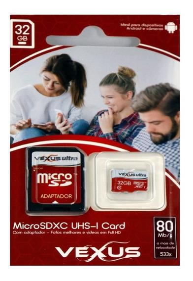 Cartão De Memoria 32gb Classe 10 Gravação De Vídeo
